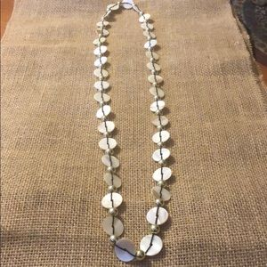 Long shell necklace!